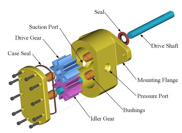 Komponen Pompa Hidrolik