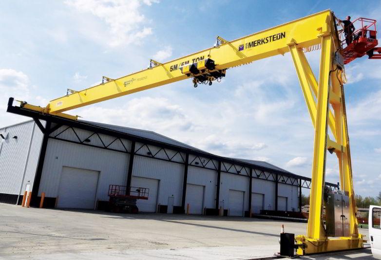 Pengertian Overhead Crane