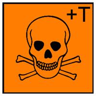 Simbol sangat beracun